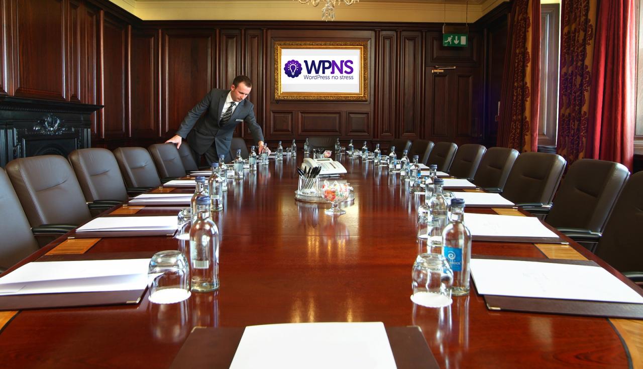 WPNS boardroom