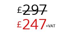 £247+VAT