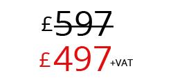 £497+VAT