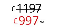 £997+VAT